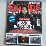 Empire Magazine  December 2011 issue 270 Misson: Impossible 4